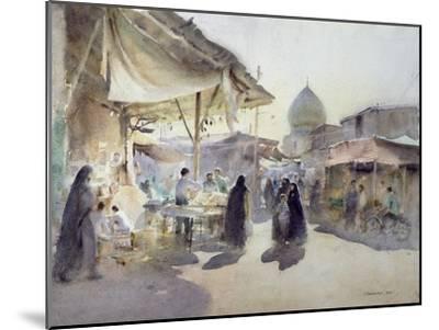 Light and Shade, Shiraz Bazaar, 1994-Trevor Chamberlain-Mounted Giclee Print