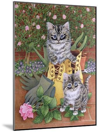 Garden Helpers-Pat Scott-Mounted Giclee Print