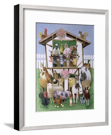Animal Playhouse-Pat Scott-Framed Giclee Print