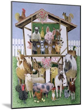 Animal Playhouse-Pat Scott-Mounted Giclee Print