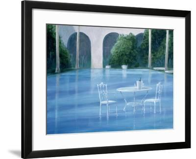Shallow End-Lincoln Seligman-Framed Giclee Print
