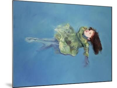 Girl Floating, 2004-Lucinda Arundell-Mounted Giclee Print