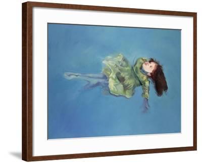 Girl Floating, 2004-Lucinda Arundell-Framed Giclee Print