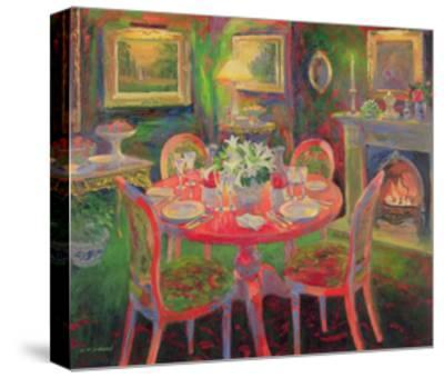 The Dining Room, C.2000-William Ireland-Stretched Canvas Print