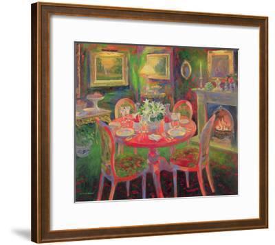 The Dining Room, C.2000-William Ireland-Framed Giclee Print