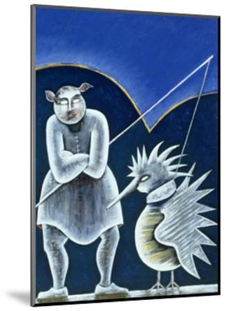 Midday Meeting-Celia Washington-Mounted Giclee Print