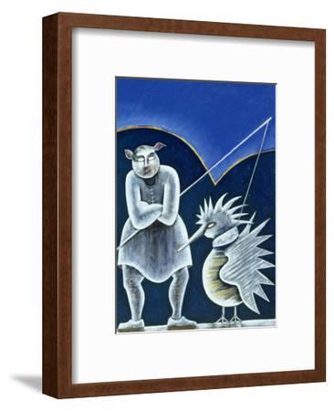 Midday Meeting-Celia Washington-Framed Giclee Print