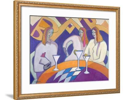 Girls Night Out, 2003-04-Jeanette Lassen-Framed Giclee Print