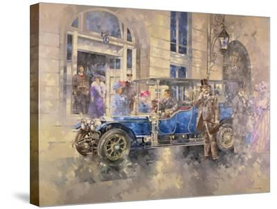 Outside the Ritz-Peter Miller-Stretched Canvas Print