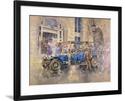 Outside the Ritz-Peter Miller-Framed Giclee Print