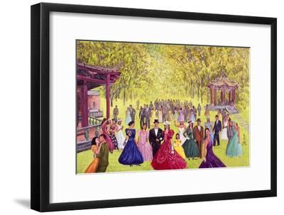 Elegant Garden Ball, 1996-Komi Chen-Framed Premium Giclee Print