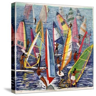Smooth Sailing, 1992-Komi Chen-Stretched Canvas Print