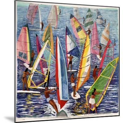 Smooth Sailing, 1992-Komi Chen-Mounted Giclee Print
