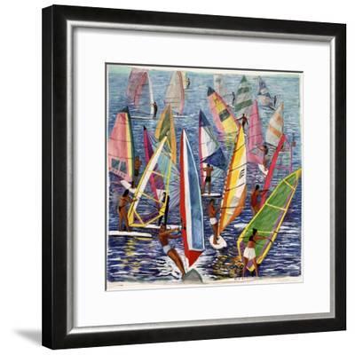 Smooth Sailing, 1992-Komi Chen-Framed Giclee Print