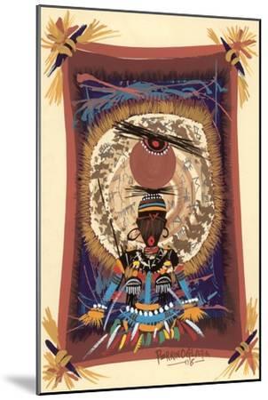 Diviner Tray, 2006-Oglafa Ebitari Perrin-Mounted Giclee Print