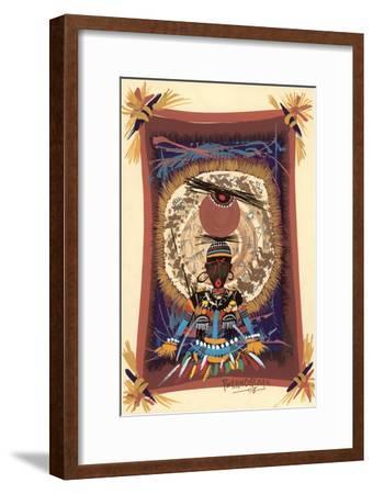 Diviner Tray, 2006-Oglafa Ebitari Perrin-Framed Giclee Print