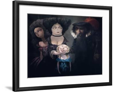 The Proposal, from 'Bluebeard' by Charles Perrault (1628-1703)-Daniel Cacouault-Framed Giclee Print