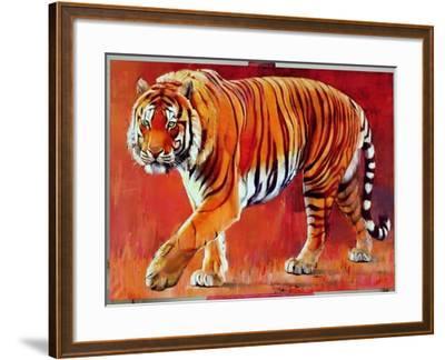 Bengal Tiger-Mark Adlington-Framed Giclee Print