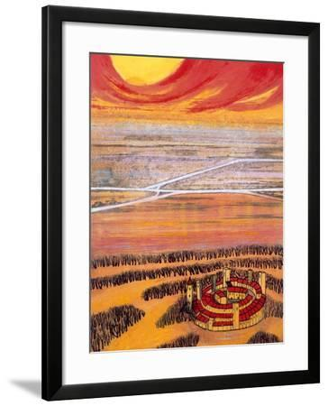 The Last Town, 2006-Silvia Pastore-Framed Giclee Print