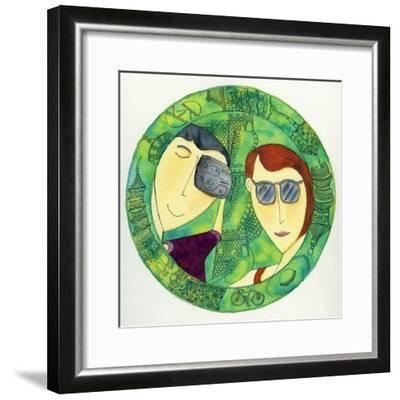 Holiday in China, 1992-Julie Nicholls-Framed Premium Giclee Print