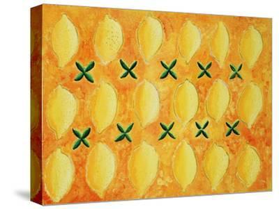 Lemons, 2004-Julie Nicholls-Stretched Canvas Print