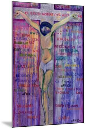 Thou Shalt Not Kill, 2000-Laila Shawa-Mounted Giclee Print