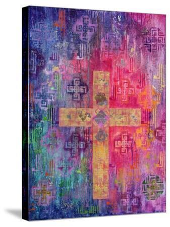 Eastern Cross, 2000-Laila Shawa-Stretched Canvas Print