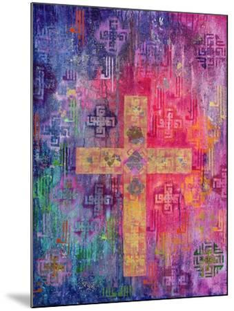 Eastern Cross, 2000-Laila Shawa-Mounted Giclee Print
