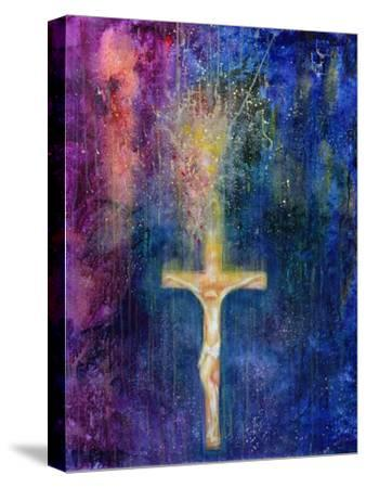Ascension, 2000-Laila Shawa-Stretched Canvas Print