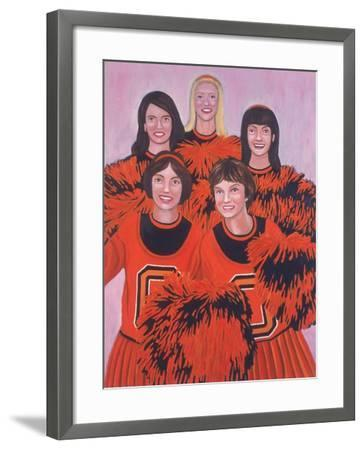 Oregon State Cheerleaders, 2002-Joe Heaps Nelson-Framed Giclee Print