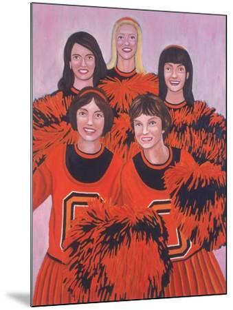 Oregon State Cheerleaders, 2002-Joe Heaps Nelson-Mounted Giclee Print