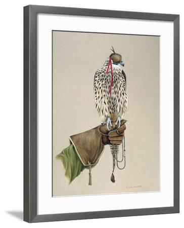 Saker on a Falconer's Wrist, 1981-Mary Clare Critchley-Salmonson-Framed Giclee Print