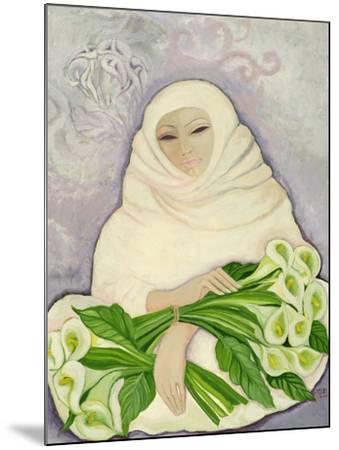 The Lily Seller, 1989-Laila Shawa-Mounted Giclee Print
