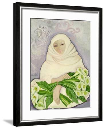 The Lily Seller, 1989-Laila Shawa-Framed Giclee Print