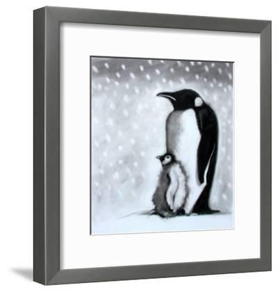 Father and Son-Paul Powis-Framed Giclee Print