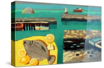 Harbour-Sara Hayward-Stretched Canvas Print