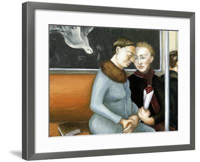 Subway Annunciation, 2006-Caroline Jennings-Framed Giclee Print
