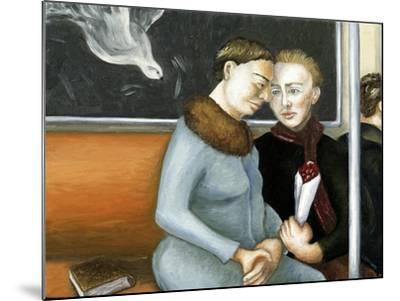 Subway Annunciation, 2006-Caroline Jennings-Mounted Giclee Print