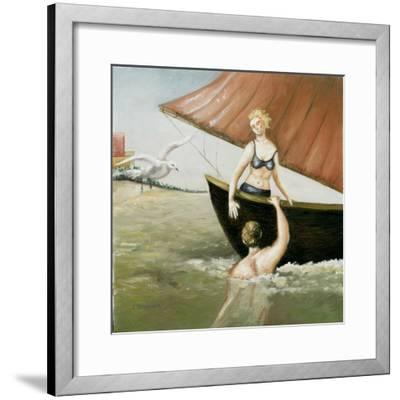 Sea Annunciation, 2-Caroline Jennings-Framed Giclee Print