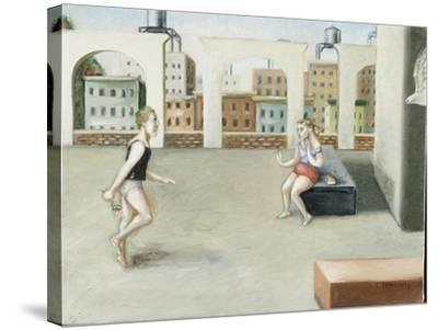 Rooftop Annunciation, 5, 2005-Caroline Jennings-Stretched Canvas Print