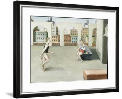Rooftop Annunciation, 5, 2005-Caroline Jennings-Framed Giclee Print