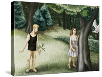 Forest Annunciation, 2, 2006-Caroline Jennings-Stretched Canvas Print