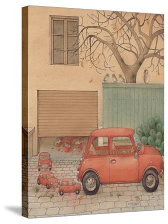 Automobile, 2005-Kestutis Kasparavicius-Stretched Canvas Print