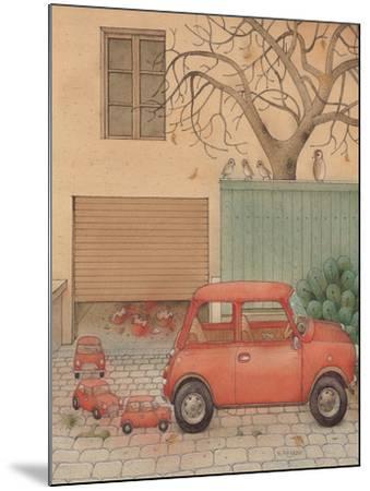 Automobile, 2005-Kestutis Kasparavicius-Mounted Giclee Print