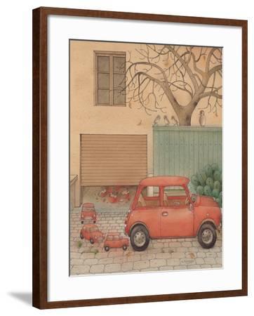 Automobile, 2005-Kestutis Kasparavicius-Framed Giclee Print