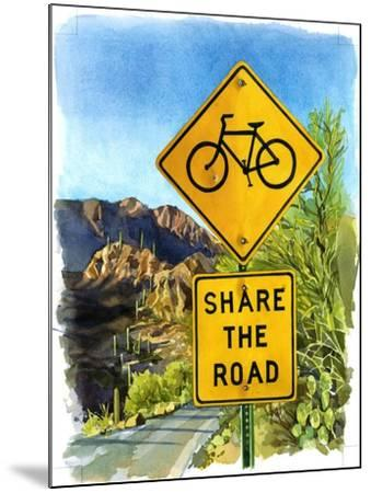 Share the Road, Gates Pass, 2004-Lucy Masterman-Mounted Giclee Print