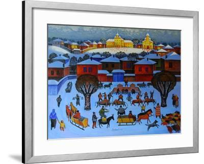 Early in the Morning, 2006-Radi Nedelchev-Framed Giclee Print
