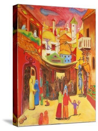 Alger, 2004-Sabina Nedelcheva-Williams-Stretched Canvas Print