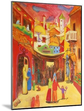 Alger, 2004-Sabina Nedelcheva-Williams-Mounted Giclee Print