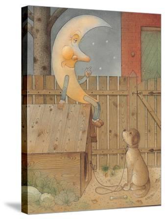 Moon, 2005-Kestutis Kasparavicius-Stretched Canvas Print